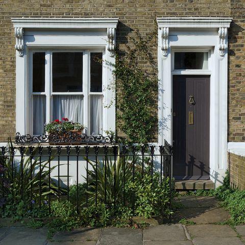 Terraced house, London