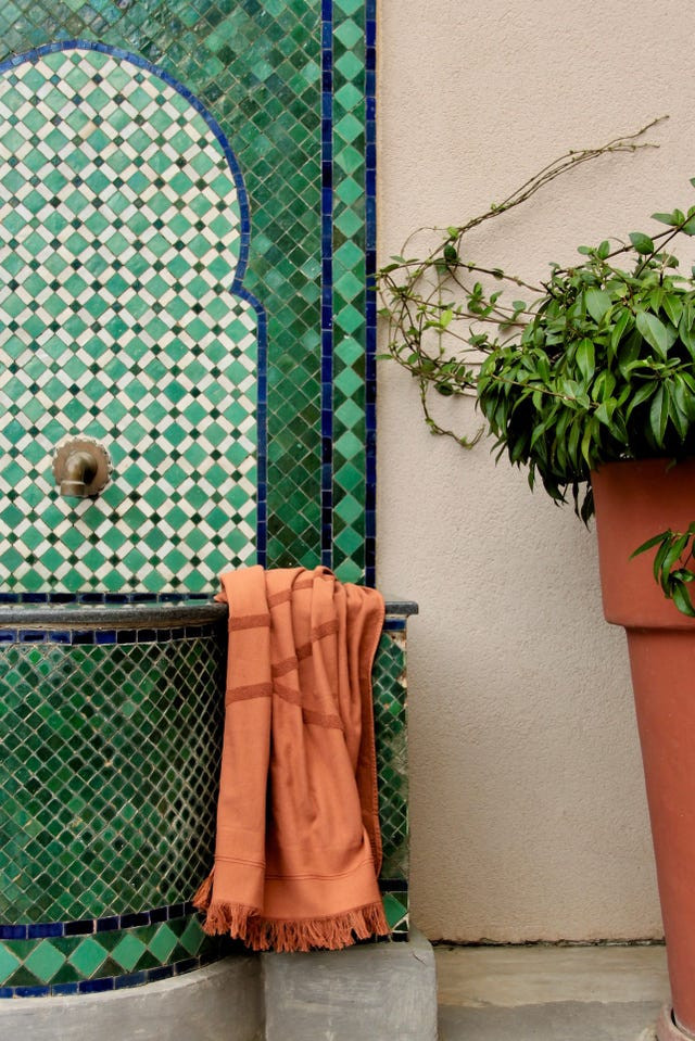 toalla way color terracota