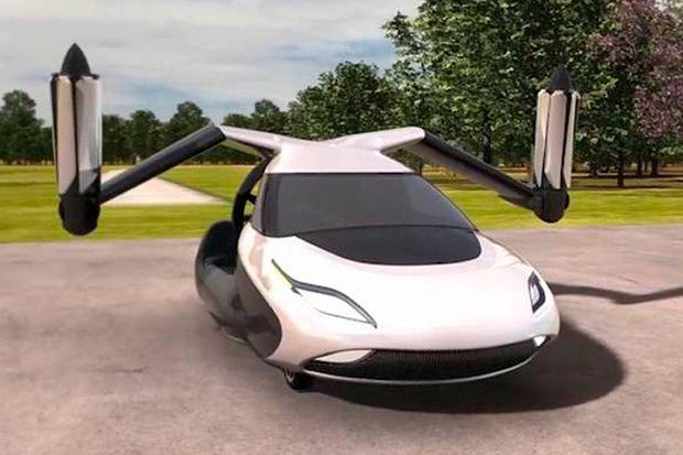 Arriva l'auto volante, proprio come nei film