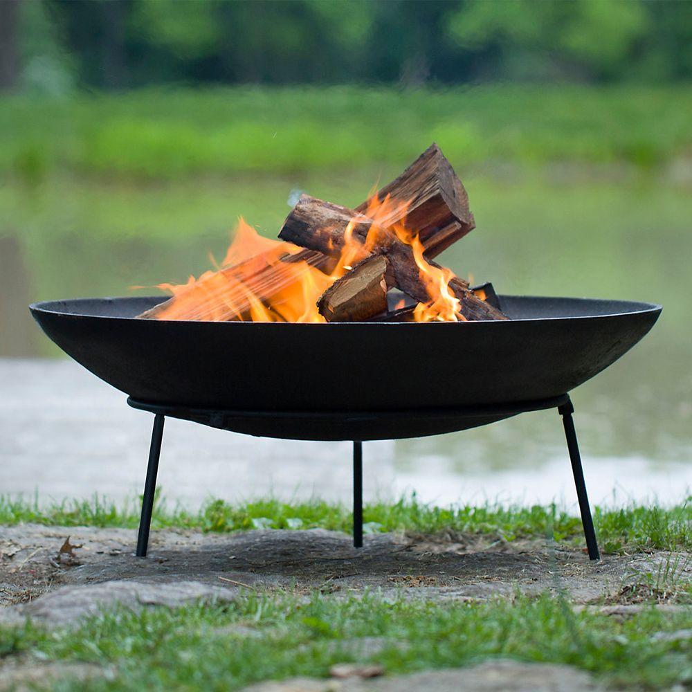 Terrain Cast Iron Dish Fire Pit