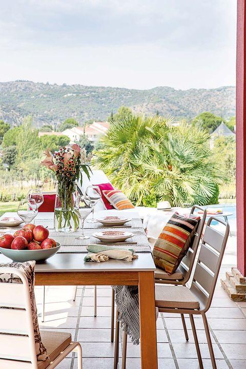 Vivienda en Las Rozas: porche
