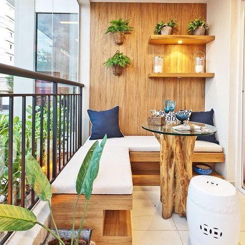 Cómo Decorar Una Terraza Pequeña Balcones Mini Bien
