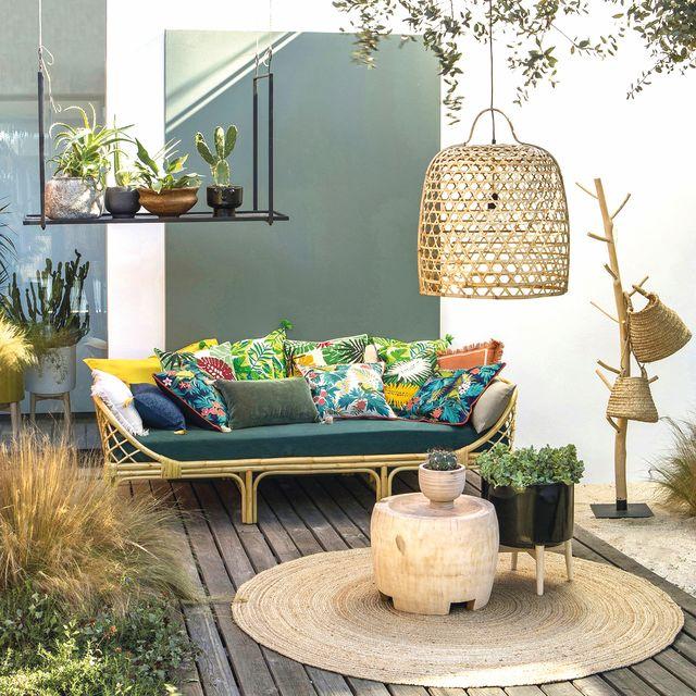 mobiliario de exterior de la redoute