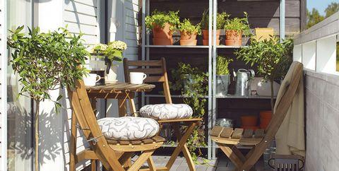 Terrazas peque as solo necesitas estas 5 grandes ideas for Amazon muebles terraza