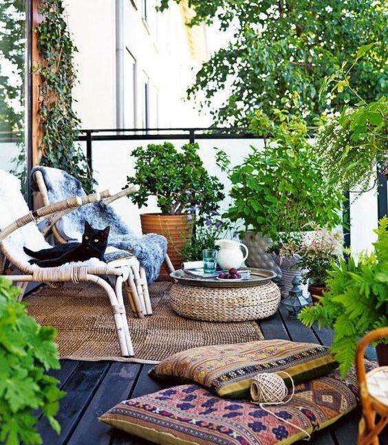 Cómo decorar terrazas urbanas