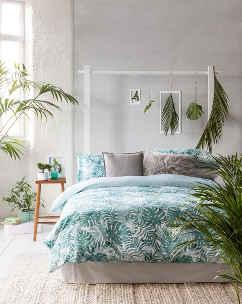 Tesco SS20 bedroom collection - tropical bedlinen