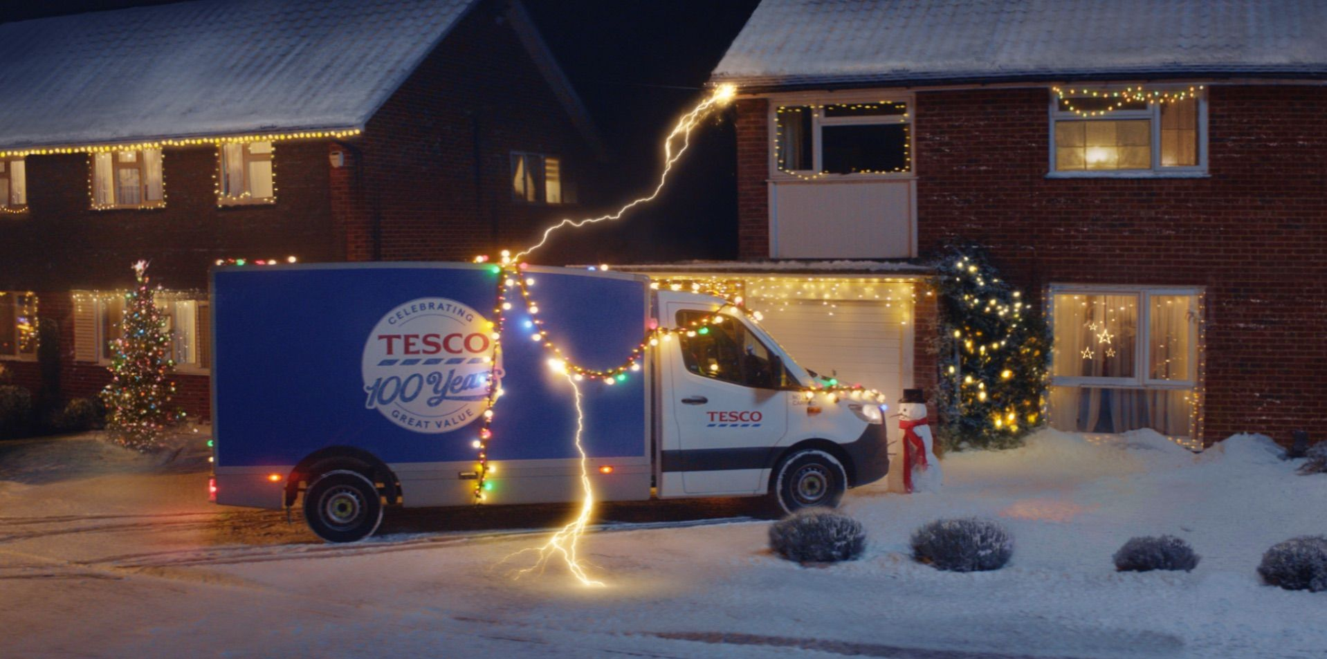 Tesco Christmas advert 2019: first look at Back to the Future-inspired advert