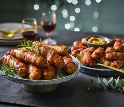 Christmas Meals 2020 Tesco's Christmas Range Includes Giant Pigs In Blankets