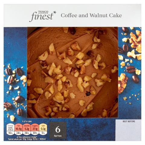 Best coffee & walnut cake
