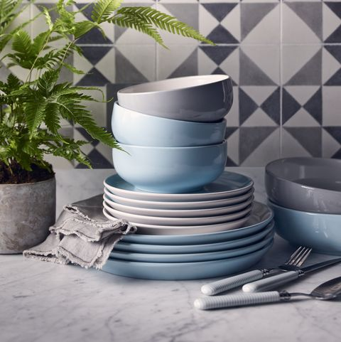 Tesco Aura 12-piece Dinner Set