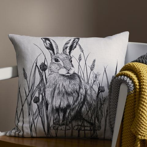 Tesco Rabbit Cushion