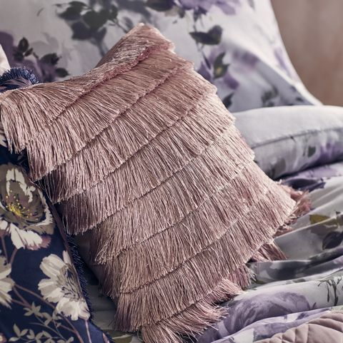 Fox Ivy Fringe Cushion