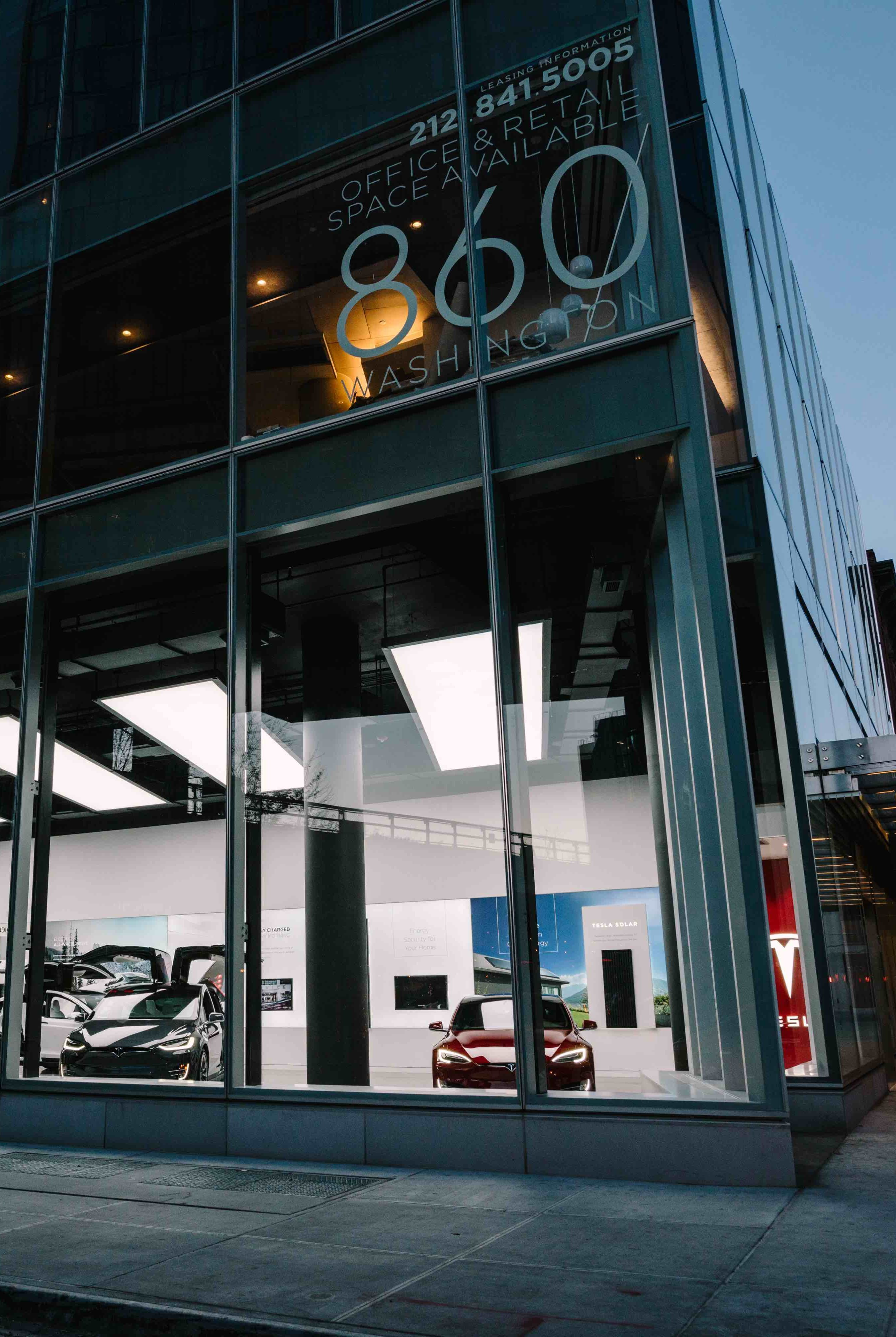 Tesla Meatpacking District Store