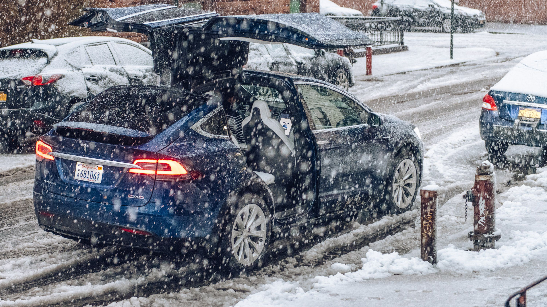 Tesla Model X P100D: The Nor'easter Test