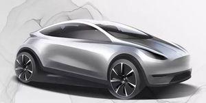 2020 Tesla urban EV sketch