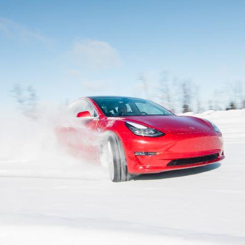 Tesla Model 3 Snow Driving Is The Tesla Model 3 A Good Rally Car