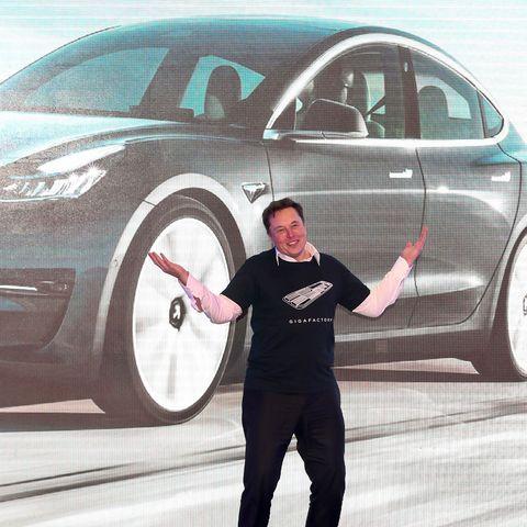 china automobile manufacturing tesla us