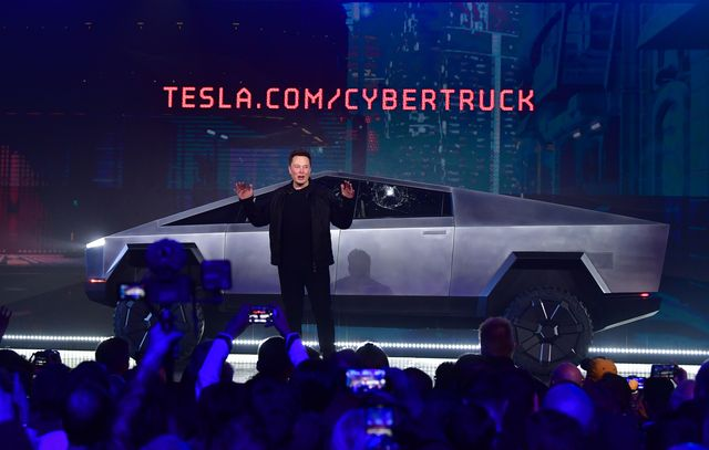 us automobile tesla cybertruck