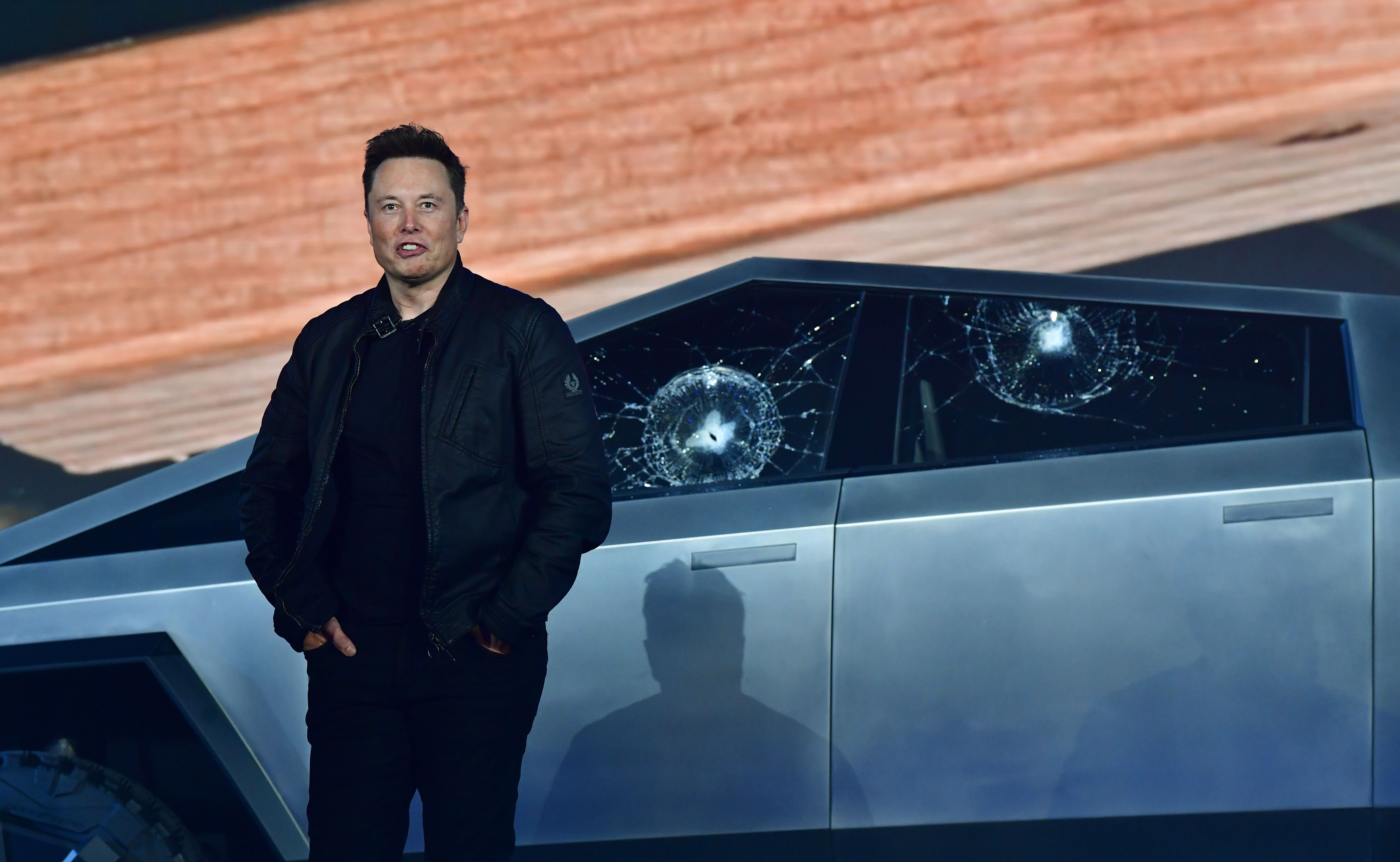 Elon Musk Introduces, Immediately Tries to Destroy $40,000 Cybertruck