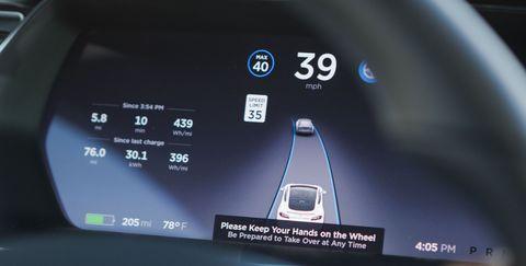 Tesla EnhancedAutopilot