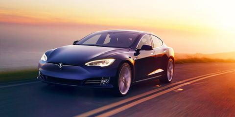 Model S Facelift blue