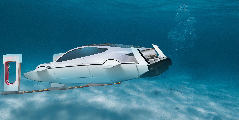 Elon Musk Says Tesla Has A Design For An Electric Submarine