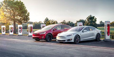 Tesla Model S Model X supercharger