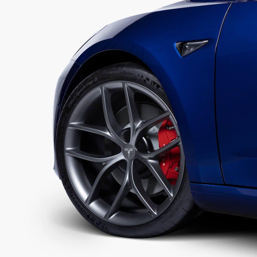 Tesla Audi Rear Brake Pad Set for Aston Martin Jaguar