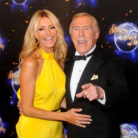 london   september 07 presenters tess daly and bruce forsyth attend the strictly come dancing 2011 press launch at bbc television centre on september 7, 2011 in london photo by anthony harveygetty images