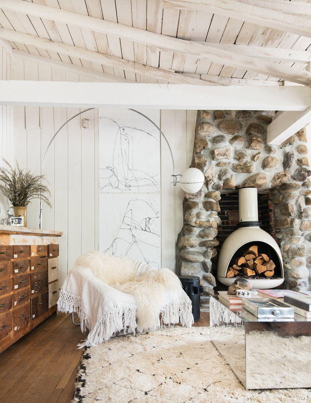 Midcentury Fireplace Ideas