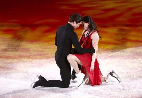 Tessa Virtue and Scott Moir olympics