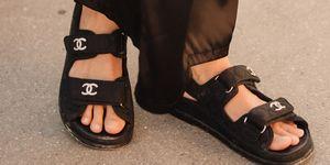 teva-sandaal klittenband