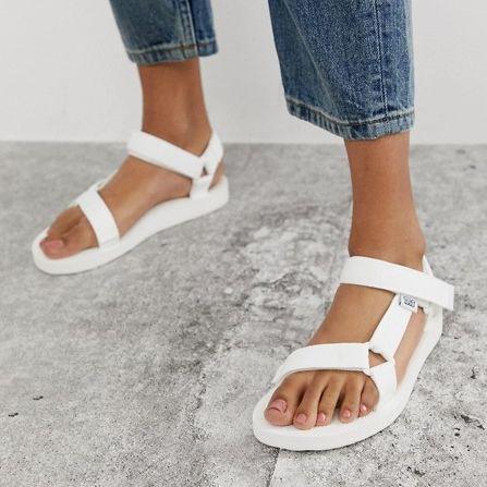 Teva white sandals