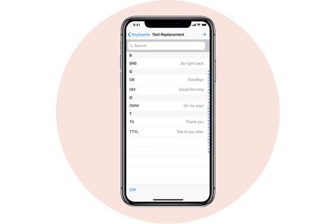 văn bản thay thế apple iphone
