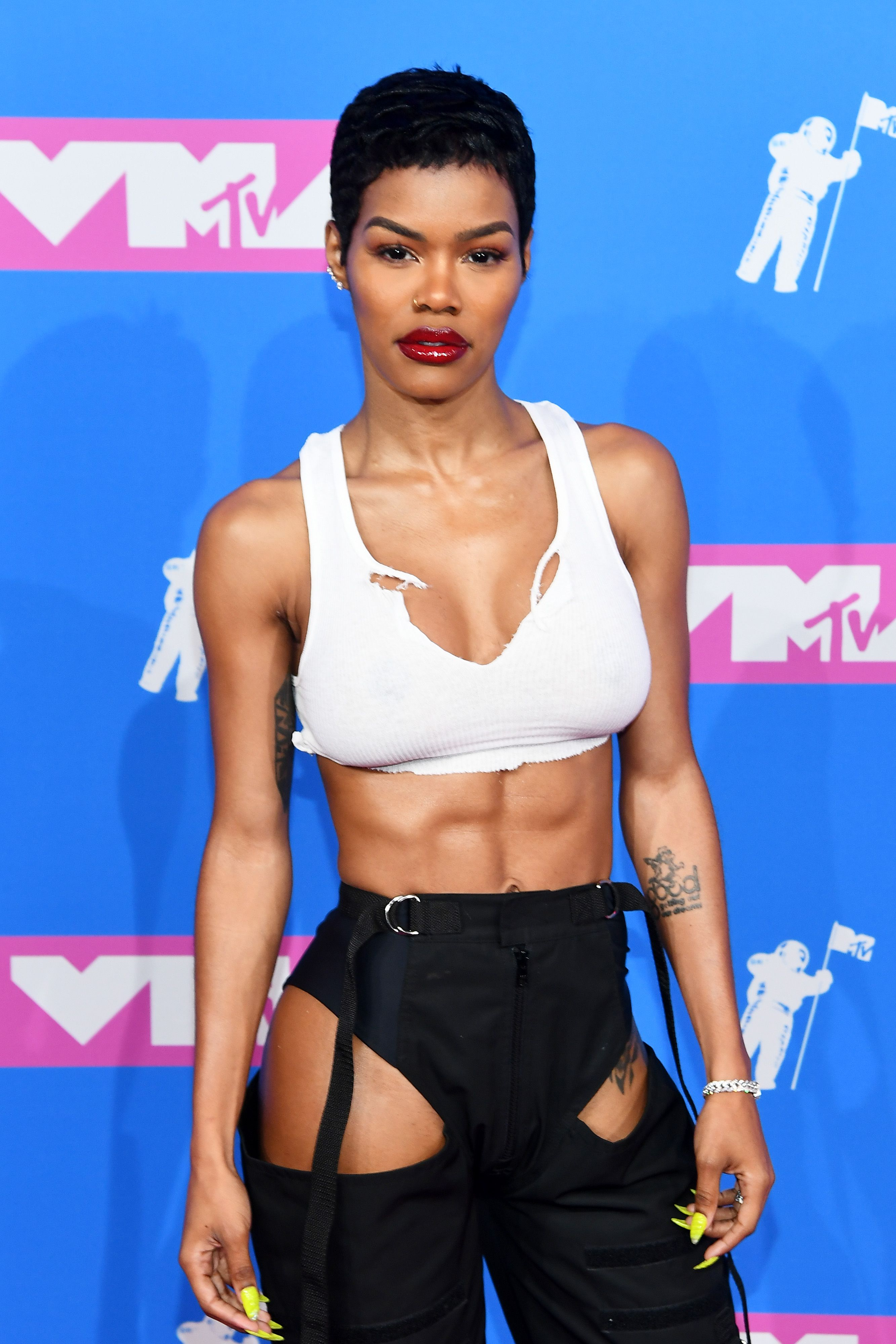 Image result for teyana taylor abs