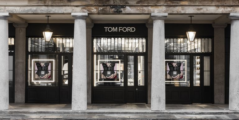 Tom ford beauty store tom ford opens his first tom ford for Modern furniture stores london