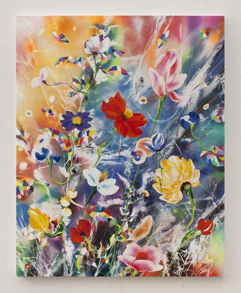 疫情也不能阻擋《血液裡的浪漫》!瑞士藝術家西瑞菲茲個展線上看,在雲端捕捉人生的絢爛瞬間