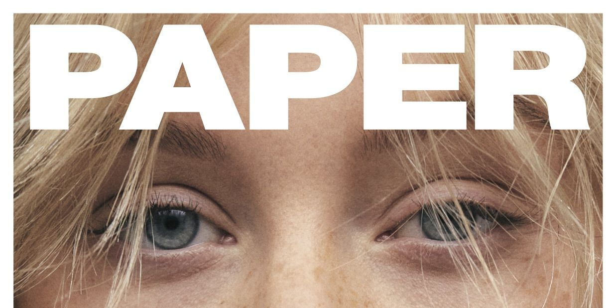 Christina Aguilera in Paper magazine