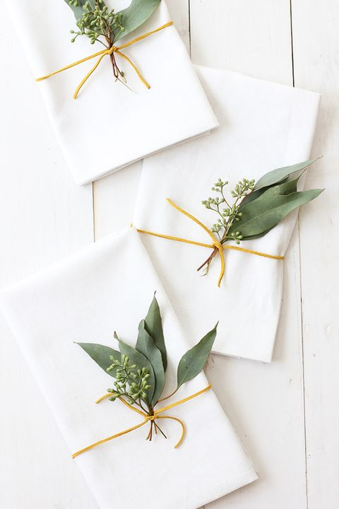 eucalyptus place settings