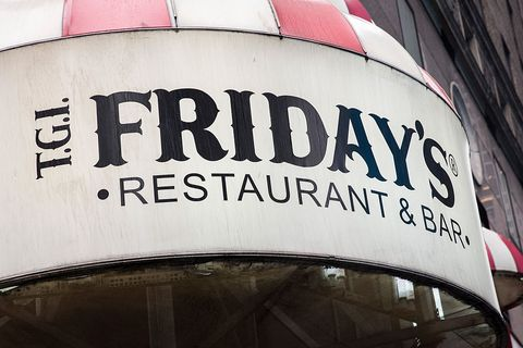 TGI Fridays Restaurants Open on Thanksgiving