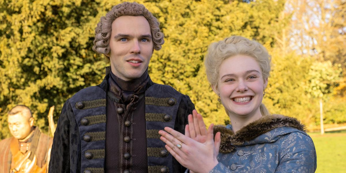 Elle Fanning Says Catherine and Peter's Relationship Gets 'Way More Twisted' in 'The Great' Season 2