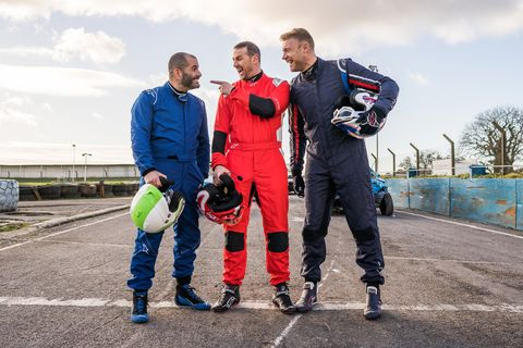 Workwear, Vehicle, Championship, Recreation, Team, Competition event, Car, Sports, Kart racing, Racing,