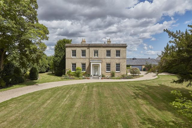 a charming georgian country home just outside of cambridge