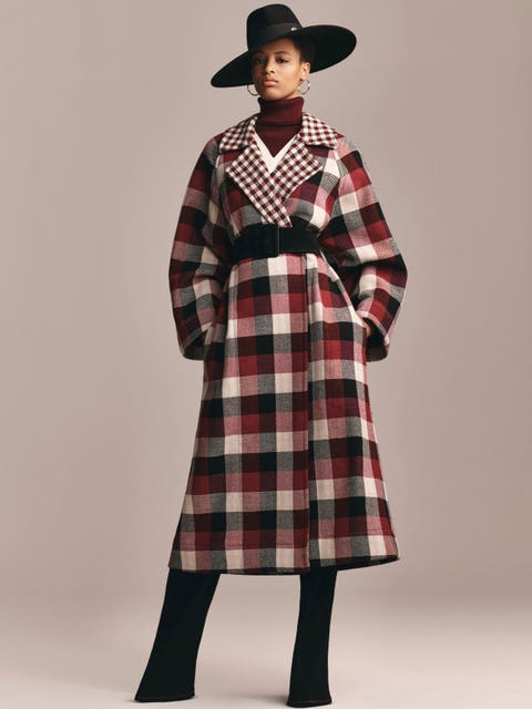 Clothing, Plaid, Pattern, Tartan, Outerwear, Sleeve, Textile, Design, Fashion, Dress,