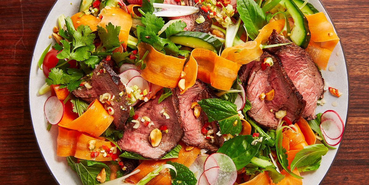 Thai Beef Salad Is Super Healthy, And SUPER Tasty