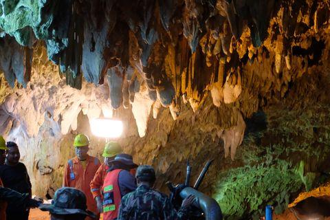 thai cave rescue boys risk cave disease