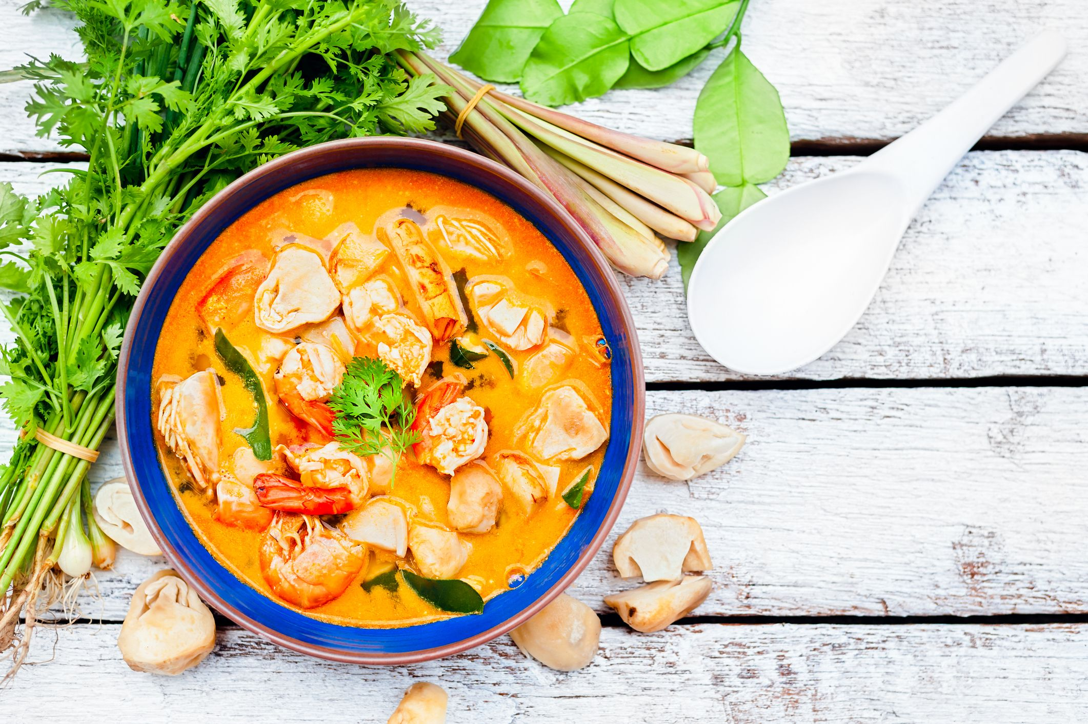 The 10 Healthiest Thai Food Orders, According To A Nutritionist