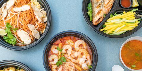 thai food takeout photo