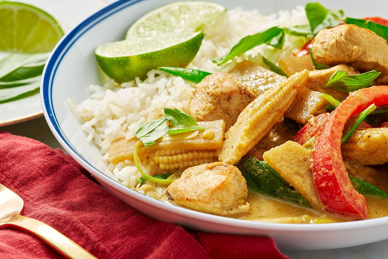 Thai Green Chicken Curry Easy Thai Green Curry Recipe