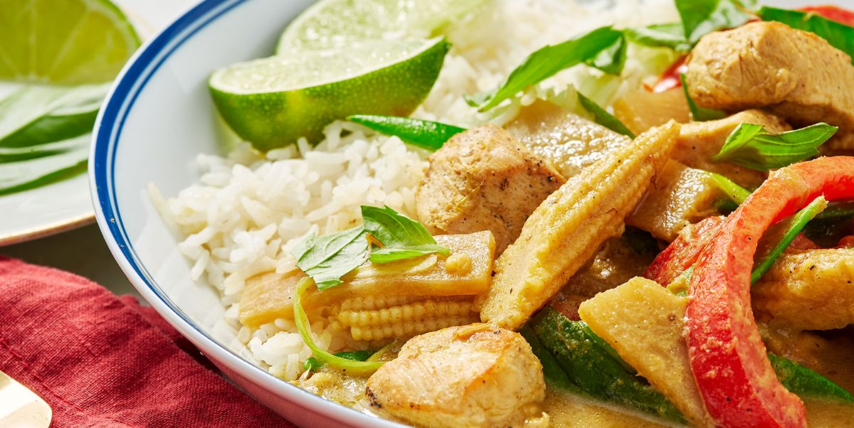 The Easiest Thai Green Curry Ever